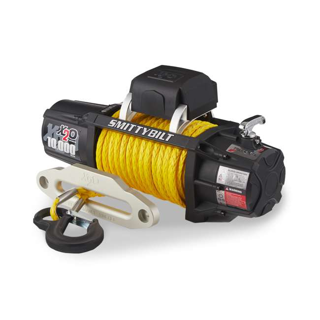 98510Y-SMITTTYBILT Smittybilt 98510Y X2O Gen2 10,000 Pound Wireless Waterproof Synthetic Rope Winch 1