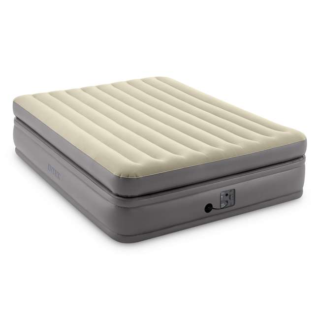 64163EP Intex 64163EP Comfort Elevated Portable Airbed with Fiber-Tech Technology, Queen 4