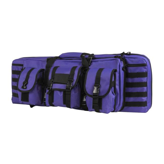"CVDC2946PR-36 NcSTAR VISM 36"" Double Rifle Carbine Padded Soft Gun Case Carry Bag, Purple"