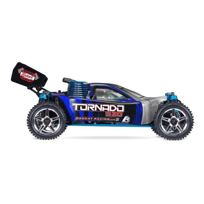4 x TORNADOS30-R1072 Redcat Racing Tornado RC Nitro Buggy, Blue & Silver (4 Pack) 2