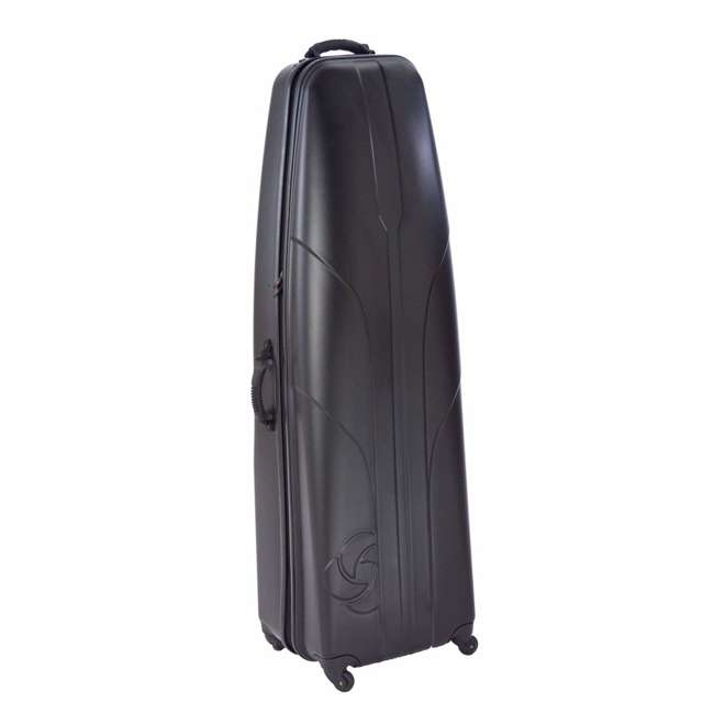 6850BLK Samsonite Hard Sided Airplane Travel Cover Case for Golf Bag and Clubs, Black