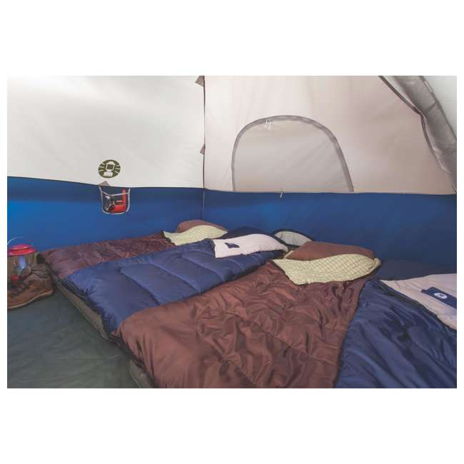 2000024583 Coleman Sundome 6 Person Tent w/ Rainfly (2 Pack) 5