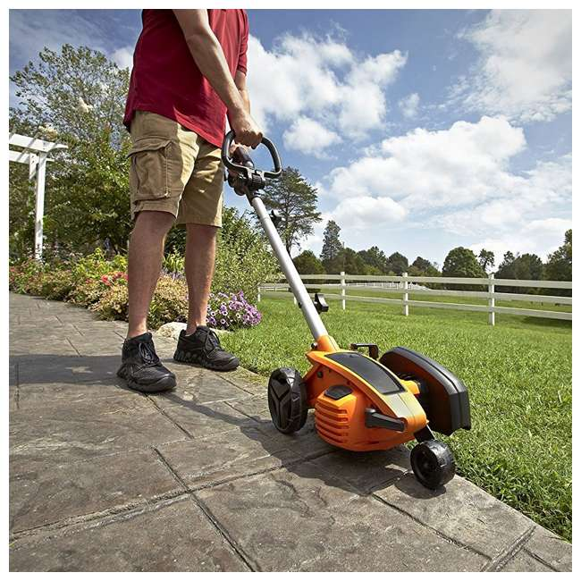 WG896 Worx 12-Amp 7.5-Inch Electric Lawn Edger and Trencher 2