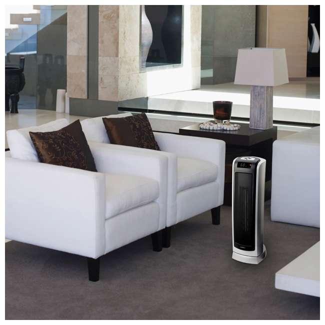 LKO-5521-TN Lasko 5521 Portable Electric 1500W Room Oscillating Ceramic Tower Space Heater 4