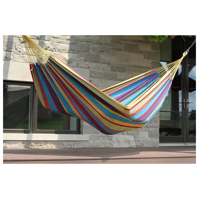 5 x BRAZ220 Vivere Brazilian Tropical 2-Person Hammock (5 Pack) 3