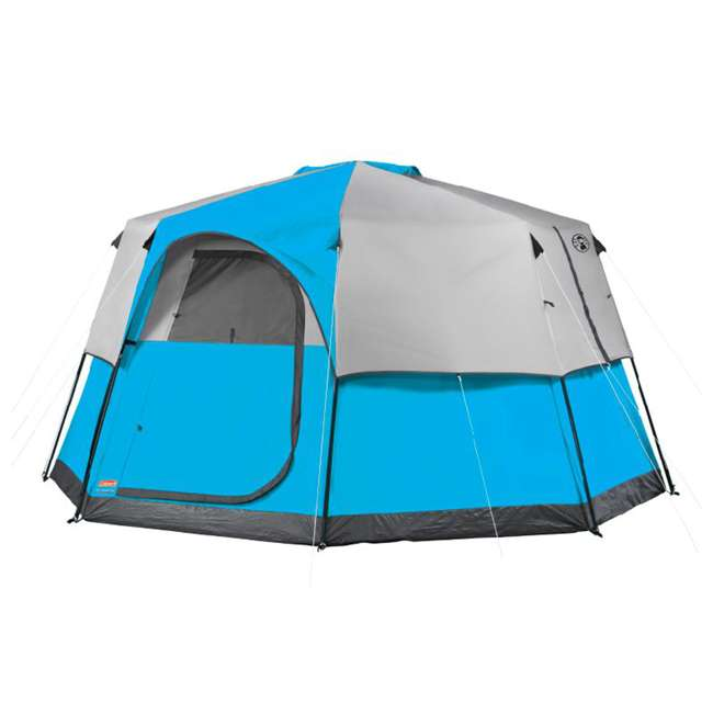 Coleman 8 Person Octagon 98 C&ing Tent w/ RainFly | 13u0027 x 13u0027  2000014929  sc 1 st  VMInnovations & Coleman 8 Person Octagon 98 Camping Tent w/ RainFly | 13u0027 x 13 ...