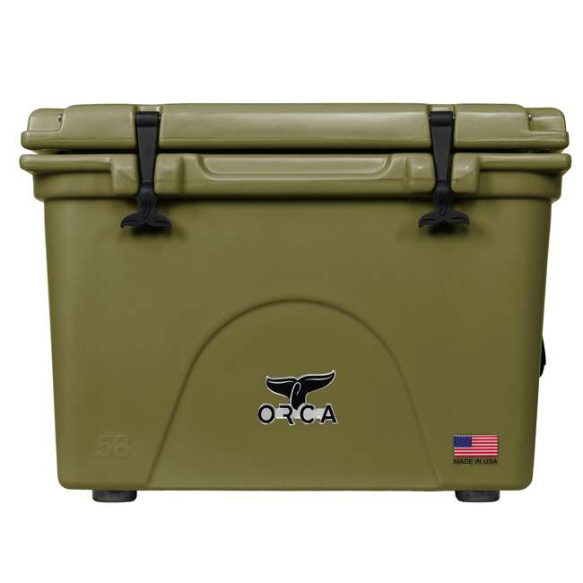 ORCG058 ORCA 58-Quart 72 Can Heavy-Duty Insulated Cooler, Seafoam Green
