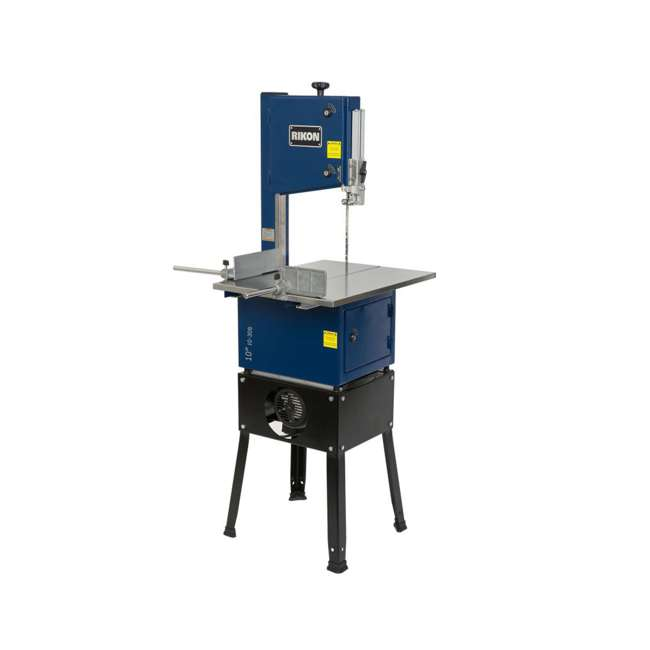 10-308 RIKON 10-308 10 Inch Meat Saw with Stainless Steel Sliding Table and Grinder