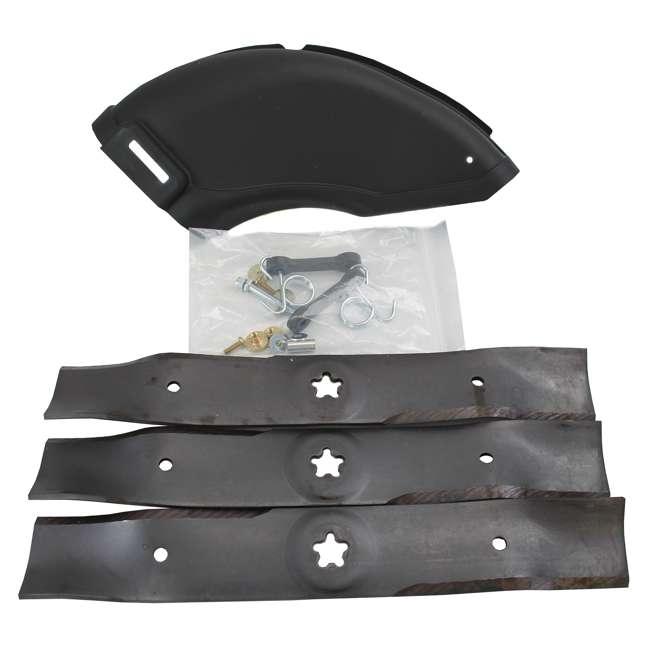 "HV-PA-586117001-U-A Husqvarna 48"" Blade Push Mower Mulching Kit with 54"" Cover (Open Box) (2 Pack) 2"