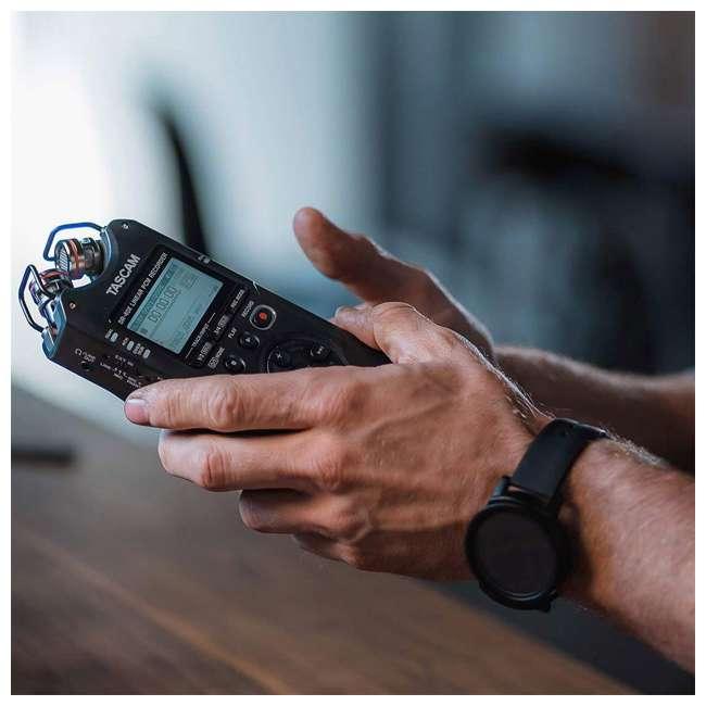 DR-40X + SD4-16GB-SAN + TH02-B Tascam 4-Track Digital Audio Recorder + Memory Card + Home & Studio Headphones 7