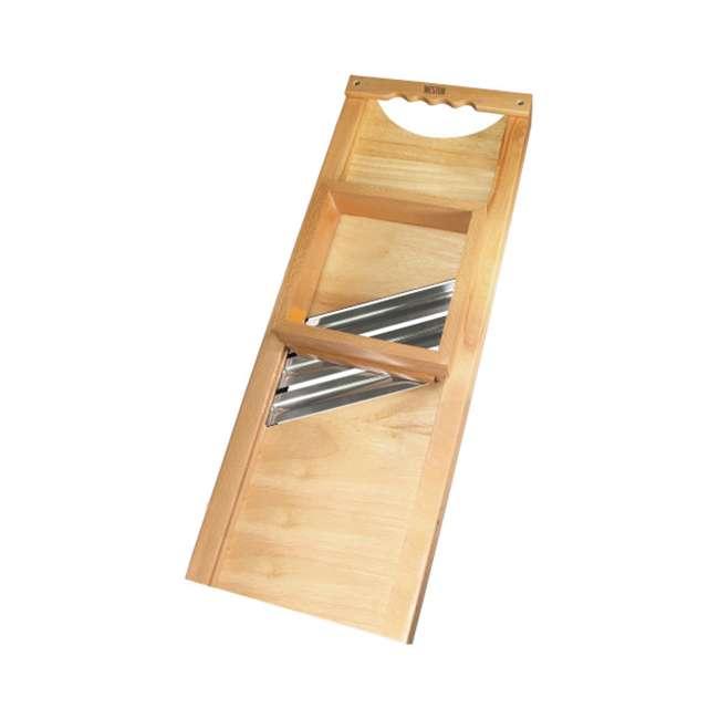 70-1401-W Weston Wooden Cabbage Shredder Slicer
