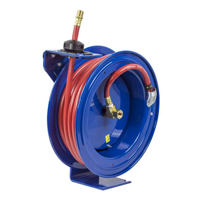 P-LP-450 Coxreels P-LP-450 Low Pressure Retractable Air and Water Hose Reel 4