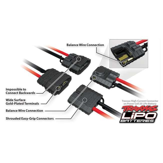 2869X Traxxas 2869X 7600mAh 7.4v 2-Cell 25C LiPo RC Car Battery 2