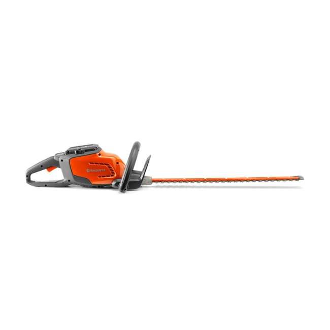 HV-BL-967094202 + HV-HT-967098602 40V Lithium Ion Leaf Blower w/ Electric 22 Inch 36 Volt Cordless Hedge Trimmer 8