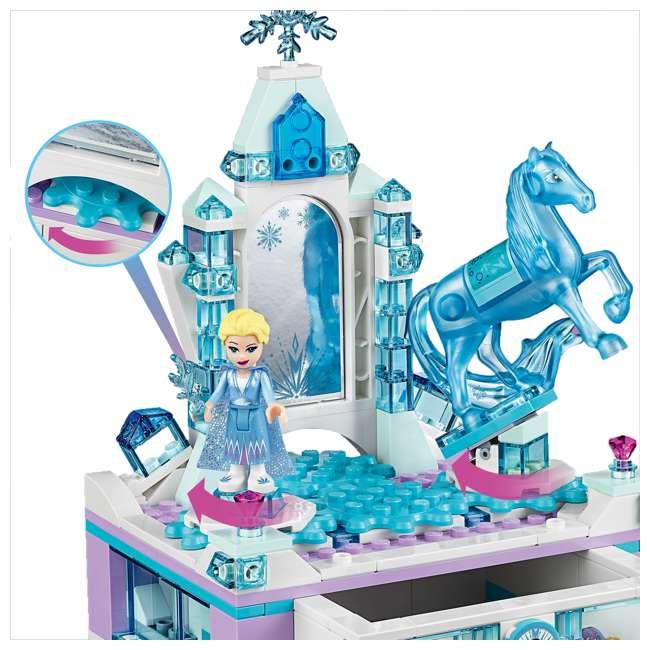 6251063 LEGO 41168 Frozen II Elsa's Jewelry Box Block Building Kit w/ 2 Minifigures 4