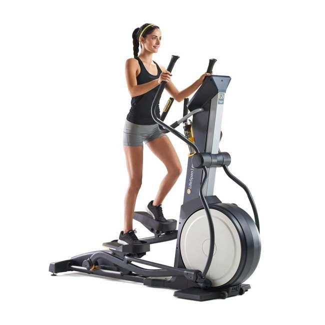 E2i LifeSpan E2i Magnetic Resistance Home Elliptical Cross Trainer Machine