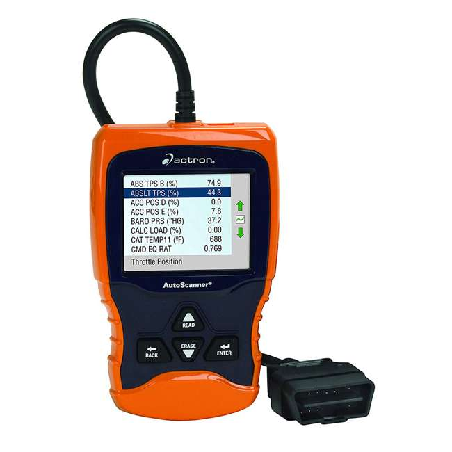 CP9670 Actron CP9670 Automotive OBD II Live Data Autoscanner with Digital Color Screen