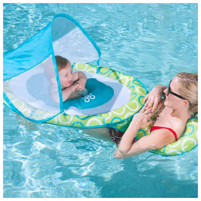 6038673-SW Swimways Mommy and Me Spring Float with Canopy 2