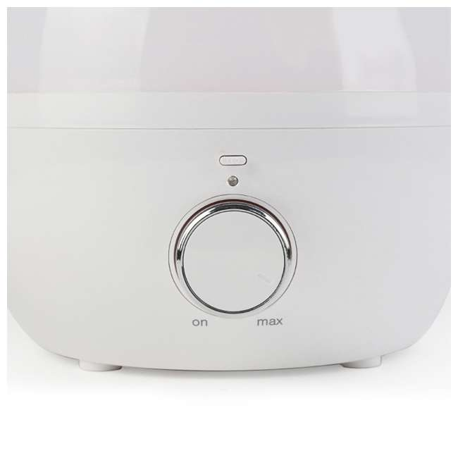 HG-C033A Lifesmart HG-C033A 3.3 Liter Ultrasonic Humidifier with Aroma Therapy, White 3