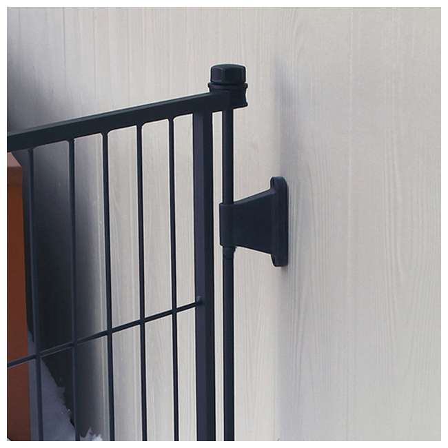 CAR480 Carlson 36-Inch Tall Outdoor Super-Wide Pet Pen and Gate, Black 2