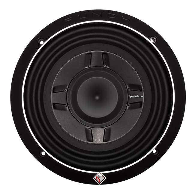 P3SD2-8-OB Rockford Fosgate PS3 8-Inch 300W Shallow 2 Ohm DVC Subwoofer