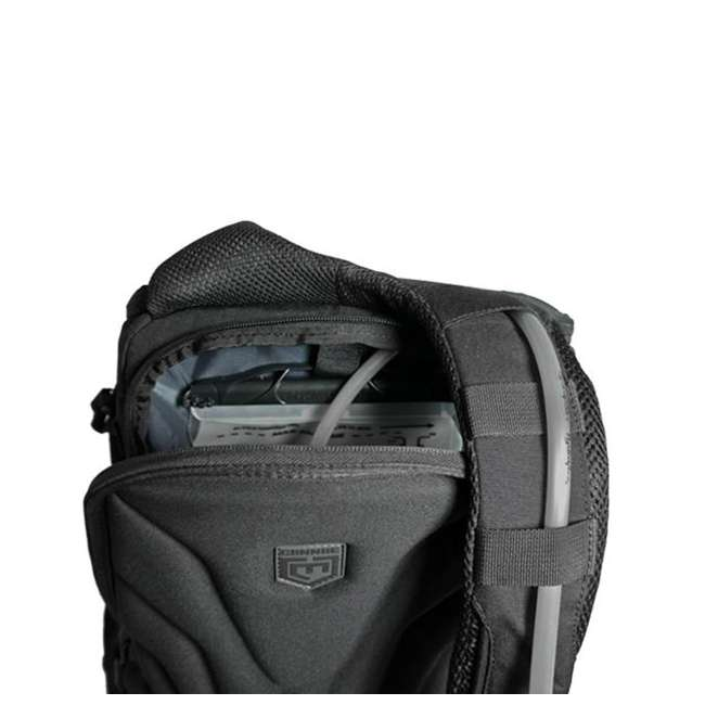 CPG-BP-LEG-M-B Cannae Pro Gear Nylon Medium 21L Legion Day Pack Backpack, Black 4