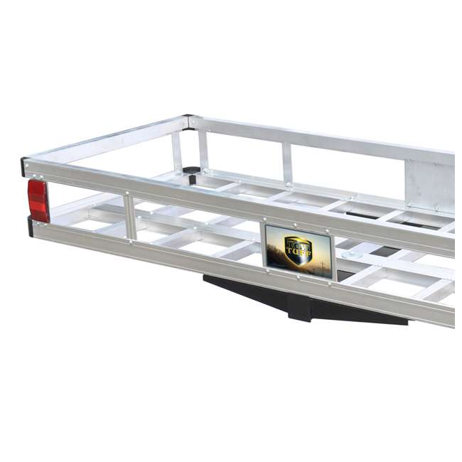 TOW-TTF-2260A Tow Tuff 60-Pound 500-Pound Aluminum Cargo Carrier (2 Pack) 3