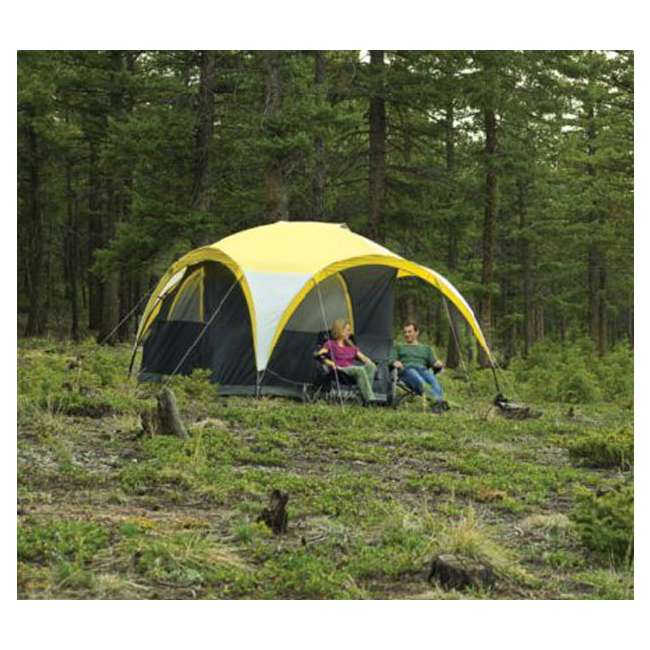 Coleman Two Person 2-for-1 All Day Dome Tent w/ Shelter Canopy  sc 1 st  VMInnovations & Coleman Two Person 2-for-1 All Day Dome Tent w/ Shelter Canopy ...