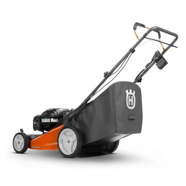 HV-WB-961480062 + HV-TOY-589289601 Husqvarna Walk Behind Mower Electric Start Gas Powered Toy Lawn Mower for Kids 5