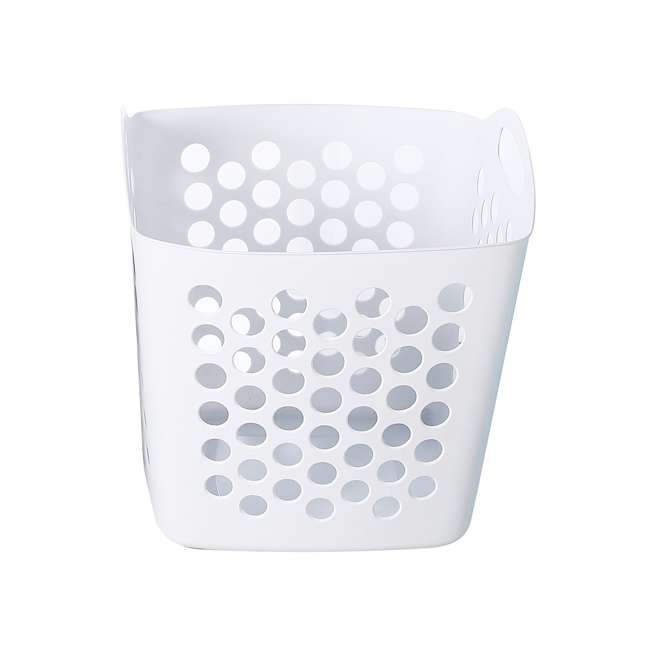 FBA32825 Ezy Storage Flexi 7 Gallon Flexible Plastic Dirty Clothes Laundry Basket Bin 4