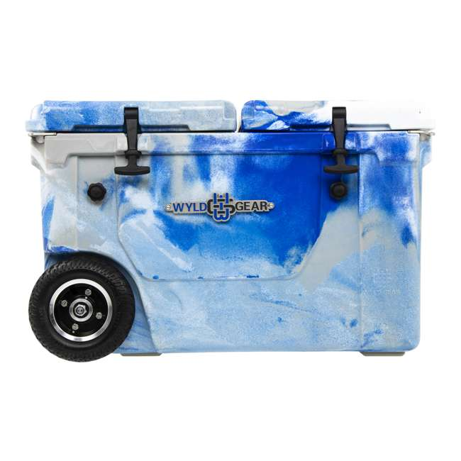 HC50-17M WYLD HC50-17M 50 Qt. Dual Compartment Insulated Cooler w/ Wheels, Marine Blue 3