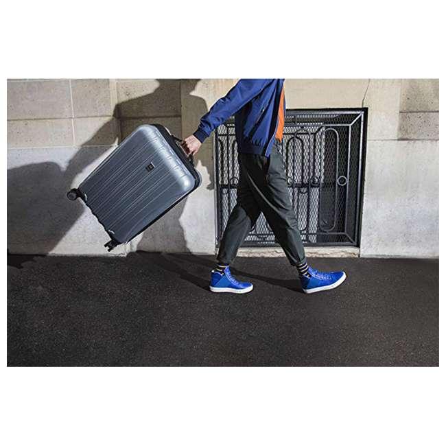 07647PL DELSEY Paris Helium Aero Expandable Medium Carry On Luggage Suitcase, Titanium 5