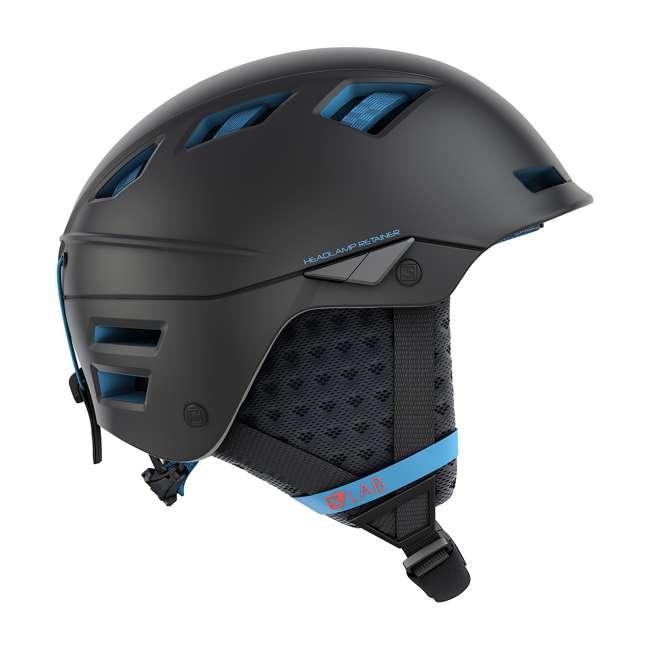 L39919856 Salomon MTN Lab Mens Black Alpine Skiing & Snowboarding Helmet, Small (53-56cm)