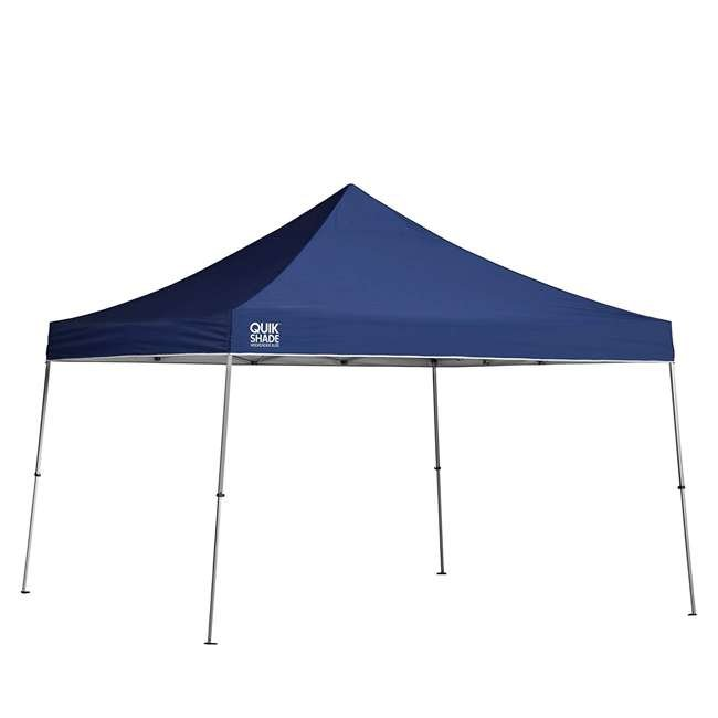 QS-157370DS ShelterLogic 12' x 12' Straight Leg Pop Up Canopy, Blue (2 Pack) 1