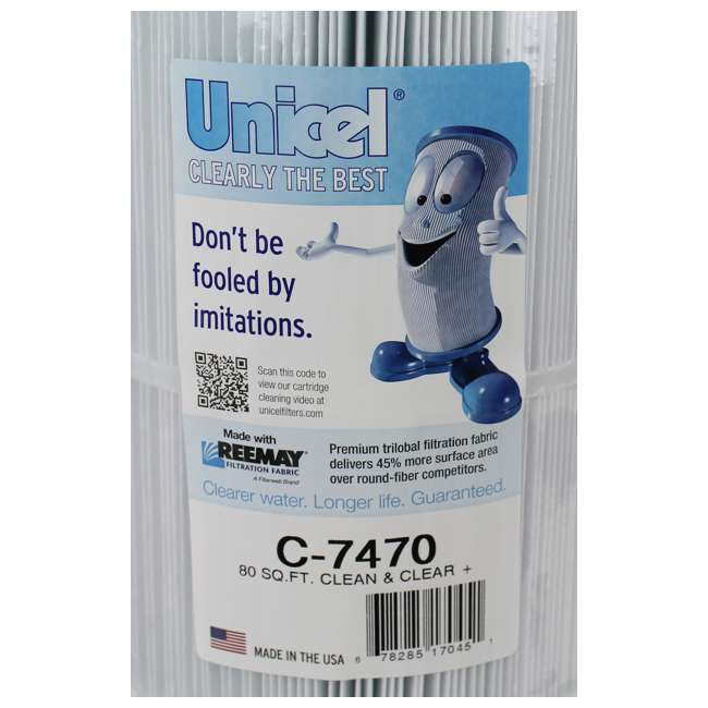 C7470 Unicel C-7470 Replacement Pool Filter 4