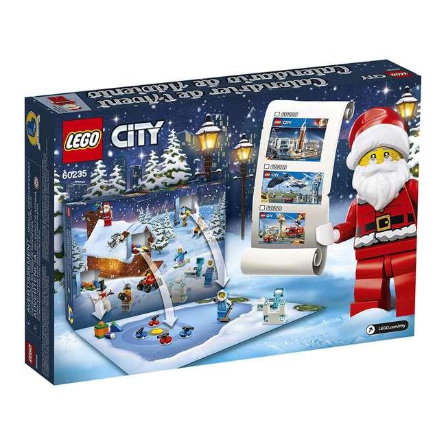 6251831 LEGO 60235 2019 Advent Calendar Block Building Kit w/ 7 Minifigures, 234 Piece 3