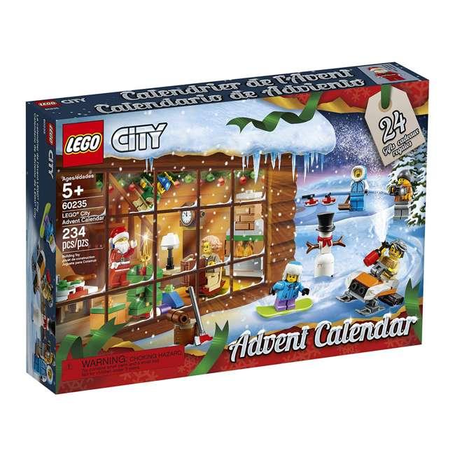 6251831 LEGO 60235 2019 Advent Calendar Block Building Kit w/ 7 Minifigures, 234 Piece 2
