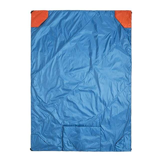 "13VBOR01C Klymit Versa 58 x 80"" Lightweight Polyester Camping Blanket & Comforter, Red"