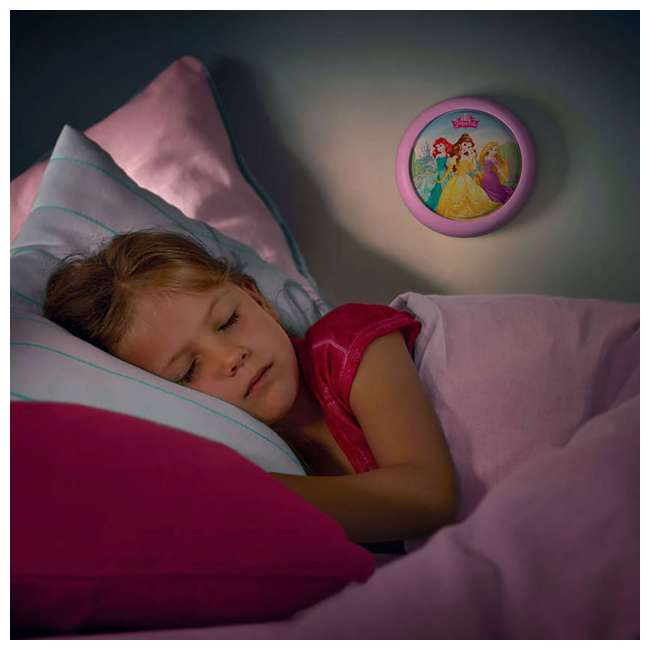 PLC-717692848 + PLC-7192428U0 Philips Disney Princess LED Nightlight with Projector and Push Touch Nightlight 9