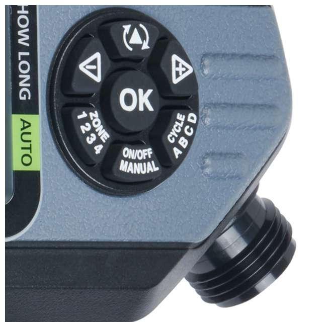 MEL-73280 Melnor 73280 HydroLogic 4 Zone Digital Water Timer (2 Pack) 5