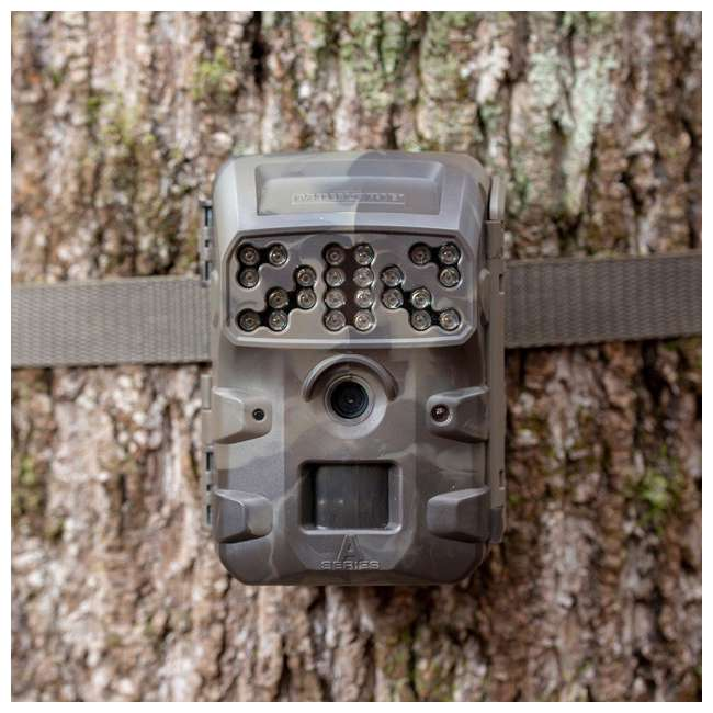MCG-13335 Moultrie Compact Night Vision Game/ Trail Camera, Smoke Screen Camo (2 Pack) 3