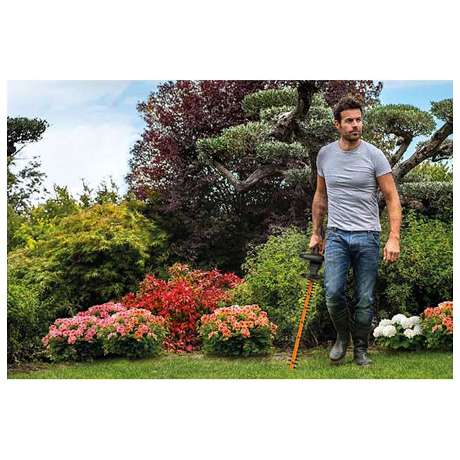WG255.1 Worx 20-Inch 20V Cordless Hedge Trimmer with Battery & Charger 3