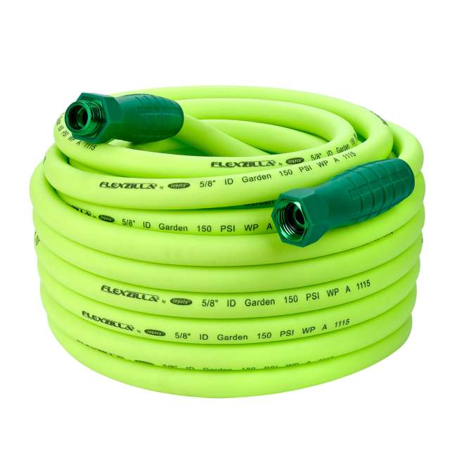 LEG-HFZG575YWS Flexzilla Garden Hose with SwivelGrip Connections, 5/8 Inch x 75 Feet (2 Pack) 1