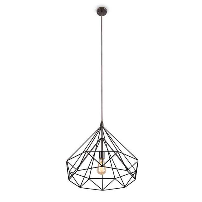 PLC-4110802U9 Philips Gabbia 18-Inch Pendant Light, Oiled Bronze (2 Pack) 3
