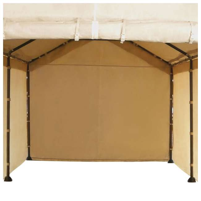 CVAN12002110160-U-A Caravan Mega Domain Car Port Sidewalls (Not Including Frame/Roof) 3