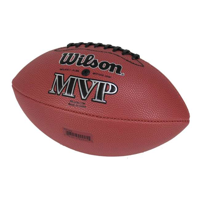 WTF1410ID Wilson MVP Junior Size Leather Football