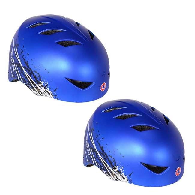 97974 Razor Ambush Child's Helmet, Blue (2 Pack)