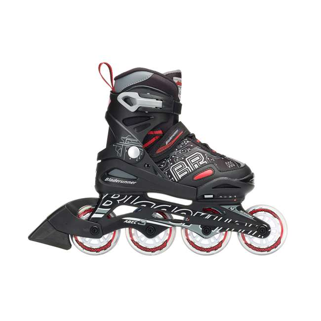 0T817100741-M Rollerblade Bladerunner Phoenix Boys Adjustable Skate, Size 1-4