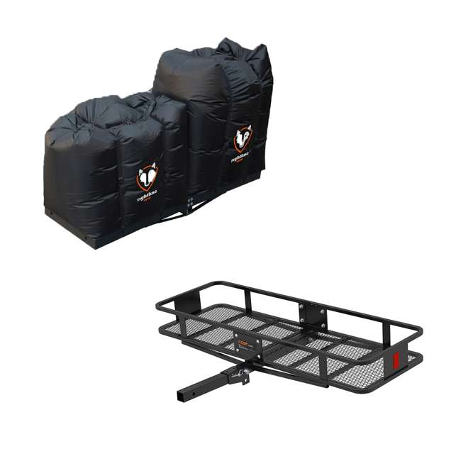 100T62 + CURT-18151 Curt Folding 60-inch Cargo Tray and 2 Rightline Gear Weather Resistant Dry Bags