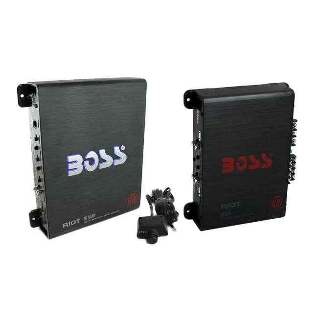 Boss Audio R1004 Riot 400-Watt Full Range, Class A/B 2-8 ...